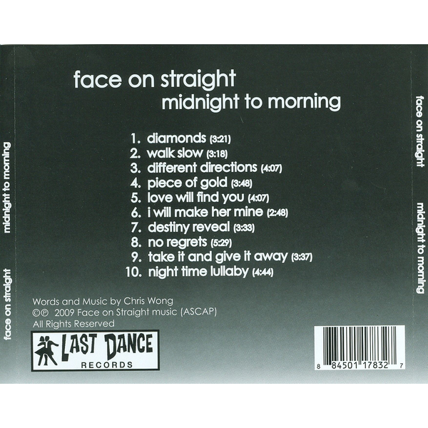 Face on Straight - Midnight to Morning