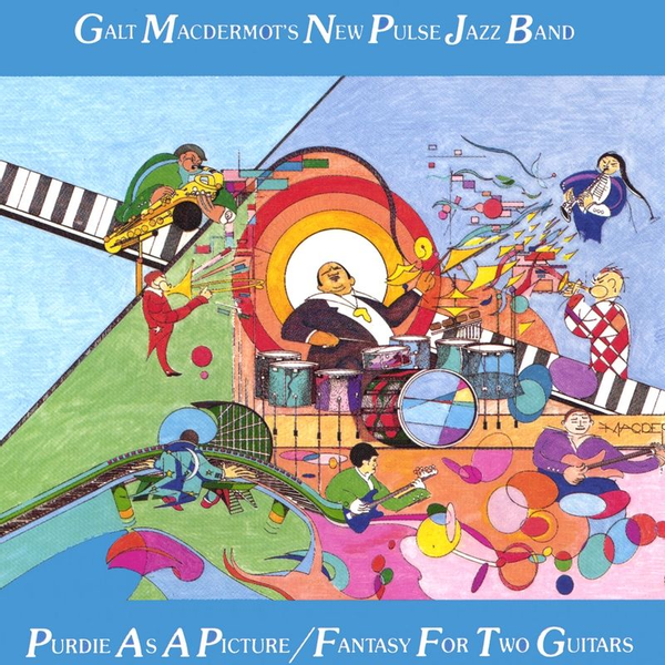 Galt MacDermot's New Pulse Jazz Band - Purdie as a Picture/Fantasy for Two Guitars