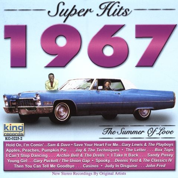 Various Artists - Super Hits 1967: The Summer of Love