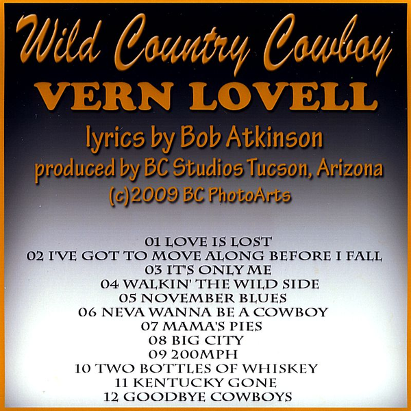 Vern Lovell - Wild Country Cowboy