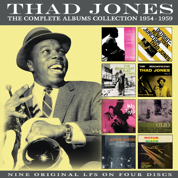 Jones,Thad - Complete Albums Collection 1954-1959