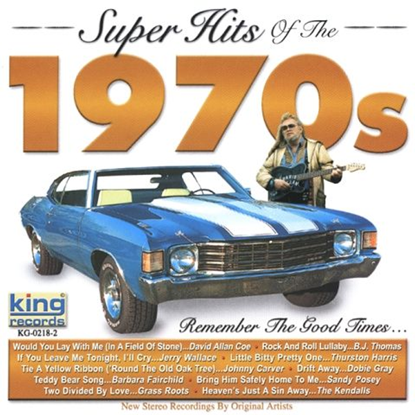 Various Artists - Super Hits of the 1970's [King]