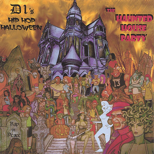 D1 - Hip Hop Halloween Haunted House Party
