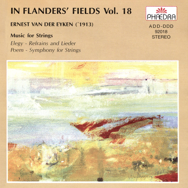 Brtn Philharmonic Orchestra - In Flanders' Fields, Vol. 18: Music for Strings