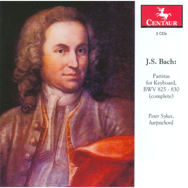 Peter Sykes Bach: Partitas for Keyboard