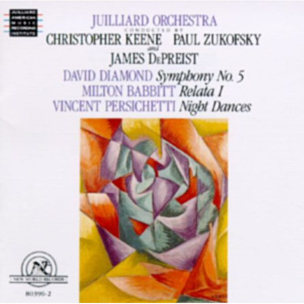 DEPREIST David Diamond: Symphony No. 5; Milton Babbitt: Relata 1; Vincent Persichetti: Night Dances