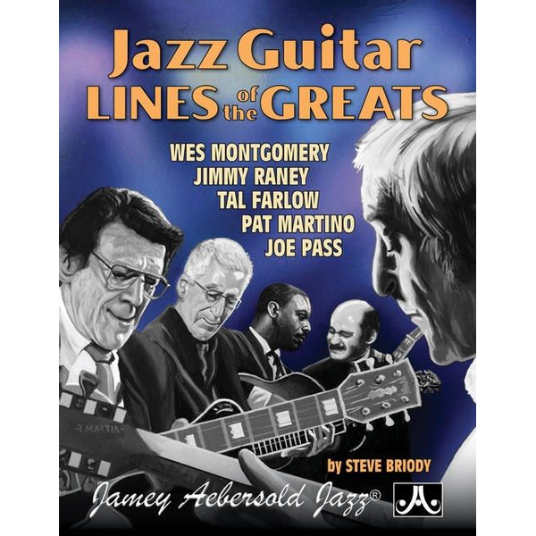 Jamey Aebersold - Jazz Guitar Lines of the Greats