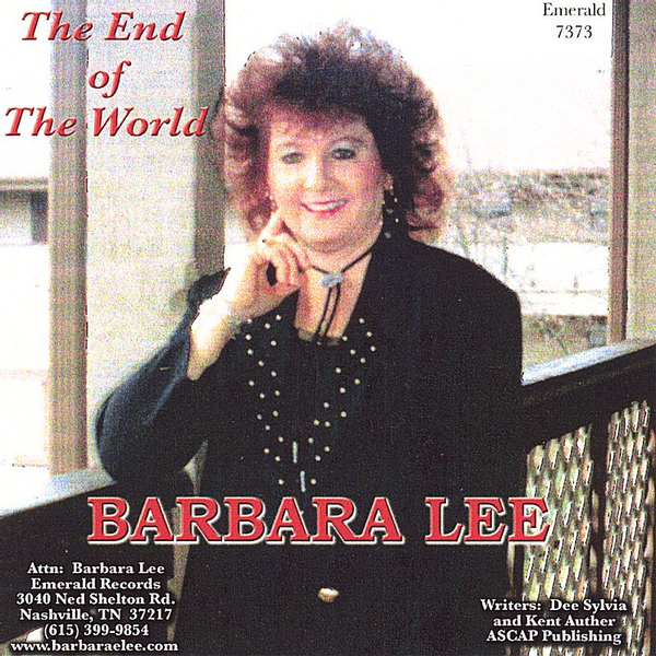 Barbara Lee - End of the World