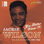 Jasmine Records Jackie WILSON - You Better Know It - The US and UK Chart Hits 1957-1962 CD