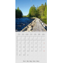 Finland - Land of a Thousand Lakes (Wall Calendar 2021 300 × 300 mm Square)