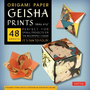 """Origami Paper Geisha Prints 48 Sheets 6 3/4"""" (17 CM): Large Tuttle Origami Paper: High-Quality Origami Sheets Printed with 8 Different Designs (Instru"""