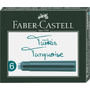 Faber-Castell 185509 pen refill Turquoise 6 pc(s)