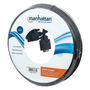 Manhattan SVGA Monitor Cable, HD15, 15m, Male to Male, Compatible with VGA, Fully Shielded, Black, Lifetime Warranty, Polybag