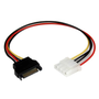 StarTech.com 12in SATA to LP4 Power Cable Adapter - F/M