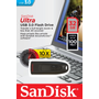 Sandisk Ultra, 32 GB, USB Type-A, 3.2 Gen 1 (3.1 Gen 1), 100 MB/s, Slide, Black