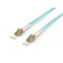 Equip LC/LC Fiber Optic Patch Cable, OM3, 0.5m