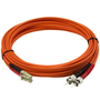 StarTech.com Fiber Optic Cable - Multimode Duplex 50/125 - LSZH - LC/ST - 5 m