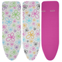 LEIFHEIT Cotton Classic M Ironing board padded top cover Pink, White