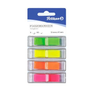 Pelikan 200311 self-adhesive label Rectangle Green, Orange, Pink, Yellow 160 pc(s)