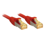 Lindy 47297 networking cable Red 7.5 m Cat7 S/FTP (S-STP)
