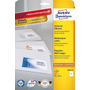 Avery 3655-10 self-adhesive label Rectangle Permanent White 20 pc(s)