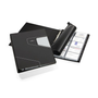Durable 246258 business card holder Anthracite