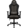 Aerocool KNIGHT AeroSuede Universal gaming chair Black