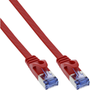 InLine 71803R networking cable Red 3 m Cat6a U/FTP (STP)