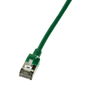 LogiLink CQ9055S networking cable Green 2 m Cat6a S/UTP (STP)