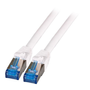 EFB Elektronik K5525FWS.1,5 networking cable Red, White 1.5 m Cat6a S/FTP (S-STP)