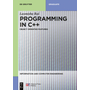 Programming in C++ - Object Oriented Features