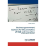 Business-government relations for the promotion of R&D and innovation - European Regions for growth