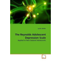 The Reynolds Adolescent Depression Scale - Applied to New Zealand Adolescents
