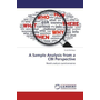 A Sample Analysis from a CBI Perspective - Needs analysis questionnaires