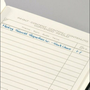 Sigel CO132 writing notebook A6 194 sheets Black