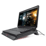 """Trust GXT 220 notebook cooling pad 43.9 cm (17.3"""") Black"""