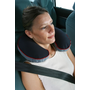 Carrefour 169504 travel pillow Inflatable Black, Grey, Red