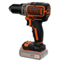 Black & Decker BL186N 1650 RPM Keyless Black, Orange