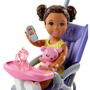 Barbie Skipper Babysitters Inc. Doll and Playset