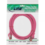 InLine 4043718125982 networking cable Pink 5 m Cat6 S/FTP (S-STP)