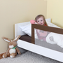 reer 45040 baby bed part Bed rail Cappuccino, Sand Polyester, Metal