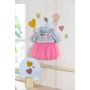 BABY born Little Casual Outfit pink Doll dress