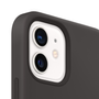 Apple iPhone 12   12 Pro Silicone Case with MagSafe - Black