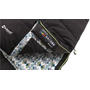 Outwell Camper Lux Adult Rectangular sleeping bag Cotton, Polycotton, Polyester Black