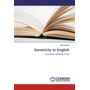 Genericity in English