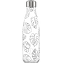 Chilly's Line Art Leaves Daily usage 500 ml Stainless steel Black, White