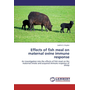 Effects of fish meal on maternal ovine immune response