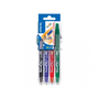 Pilot FriXion Ball Black, Blue, Green, Red 4 pc(s)