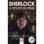Sherlock - A Study in Pink, mit 2 Audio-CDs - Helbling Readers Movies / Level 5 (B1)