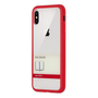 """Moleskine MO2HP8BF2, Cover, Apple, iPhone X, 14.7 cm (5.8""""), Red"""